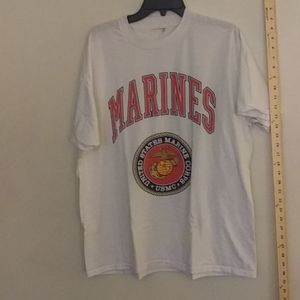 Marines T-Shirt Size 22 wide 28 long